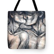 Lovers - Kiss Tote Bag