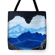 Lovers Cave Tote Bag