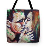 Lovers - Colours And Kisses Tote Bag