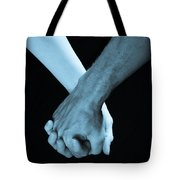 Lovers Hands Tote Bag
