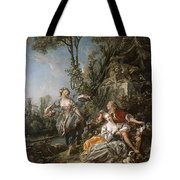 Lovers In A Park Tote Bag