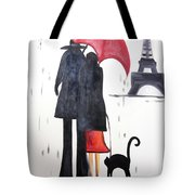 lovers in Paris Tote Bag