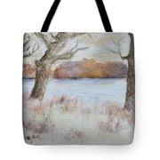 Lovers' Lake Tote Bag