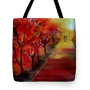 Lovers' Lane Tote Bag