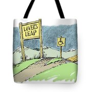 Lover's Leap. Tote Bag