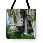 Lover's Leap Waterfall Tote Bag