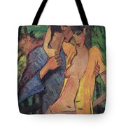 Lovers Tote Bag by Otto Muller