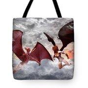 Lovers Quarrel Tote Bag