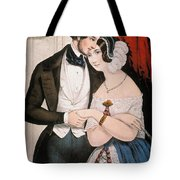 Lovers Reconciliation Tote Bag