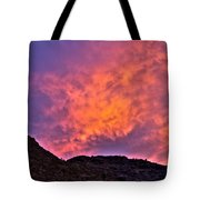 Lover's Sky Tote Bag