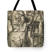 Love's Mirror Or A Parable Of Love Tote Bag