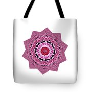 Loving Rose Mandala By Kaye Menner Tote Bag