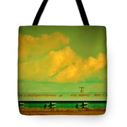 Low And Low Green Building Tote Bag