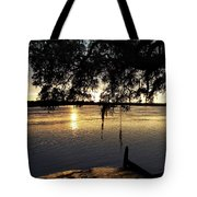 Low Country Sunset Tote Bag