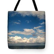 Low Hanging Clouds Tote Bag