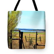 Low Land By The Lake Tote Bag