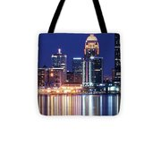 Low Moon Over Louisville Tote Bag