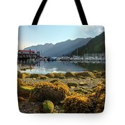 Low Tide At Horseshoe Bay Canada Tote Bag