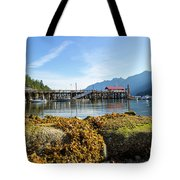 Low Tide At Horseshoe Bay Canada On A Sunny Day Tote Bag