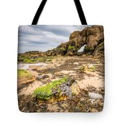 Low Tide At Saddle Rocks Tote Bag