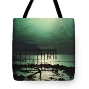 Low Tide By Moonlight Tote Bag