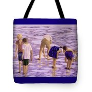 Low Tide Exploration Tote Bag