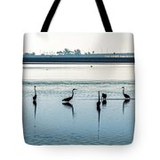 Low Tide Gathering Tote Bag