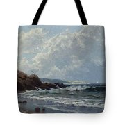 Low Tide, Hetherington's Cove, Grand Manan By Alfred Thompson Bricher Tote Bag