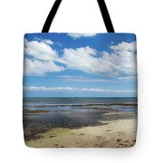 Low Tide In Paradise - Key West Tote Bag