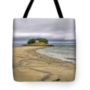 Low Tide In Popham Beach Maine Tote Bag