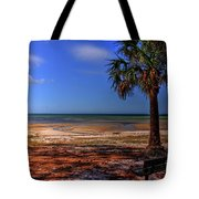 Low Tide Time Tote Bag