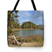 Lowcountry Lagoon Tote Bag