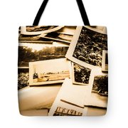 Lowdown On A Vintage Photo Collections Tote Bag