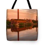 Lowell Skyline  Tote Bag