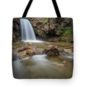 Lower Adams Canyon Falls Tote Bag