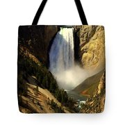 Lower Falls 2 Tote Bag by Marty Koch