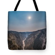 Lower Falls At Artist Point  Tote Bag