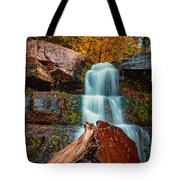 Lower Falls At Kaaterskill Tote Bag