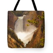 Lower Falls From Artists Viewpoint Tote Bag