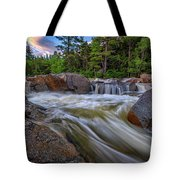 Lower Falls Of The Swift River Tote Bag