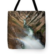 Lower Falls Rainbow Tote Bag