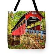 Lower Humbert Covered Bridge 2 Tote Bag