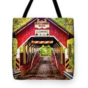 Lower Humbert Covered Bridge 5 Tote Bag