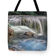 Lower Lewis River Falls Rush Tote Bag
