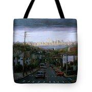 Lower Manhattan 2002 Tote Bag