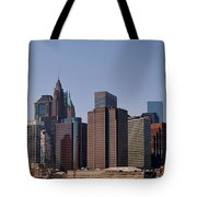 Lower Manhattan Nyc #2 Tote Bag