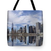 Lower Manhattan Nyc Tote Bag
