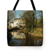 Lower Mill Of Cullompton  Tote Bag