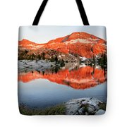 Lower Ottoway Lake Sunset - Yosemite Tote Bag