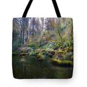 Lower Pond At Portland Japanese Garden Tote Bag
